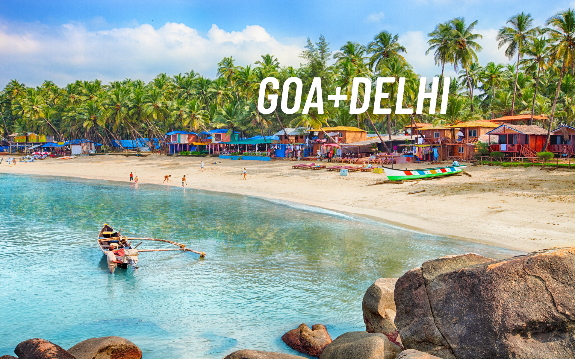 Goa and Delhi 5 Days Package